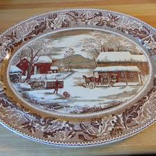 thanksgiving turkey platter best beautiful johnson brothers historic america home for