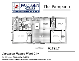 Jacobsen Mobile Home Floor Plans plant city model center the factory home store