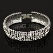 rhinestone bracelet images Rhinestone bracelet our top seller offered in two colors jpg