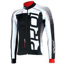 black cycling jacket ekoi perfolinea black white ls winter cycling jersey ekoi