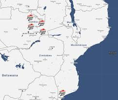 Subsaharan Africa Map by Dagon Consumer Dagon Holding