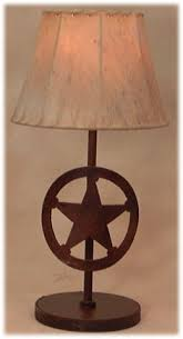 texas star table lamps lighting for your home or office lamparas