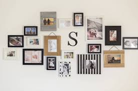 diy picture wall letter metal letter 6 inches tall wall