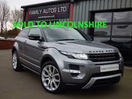 used land rover for sale used land rover range rover evoque 2 2 sd4 dynamic 3dr auto for