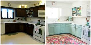 kitchen redo ideas this bright and cheery kitchen renovation cost just 250 cheap