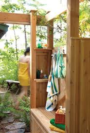Free Outdoor Wood Furniture Plans by Free Outdoor Shower Wood Plans