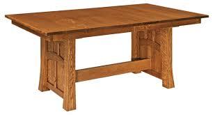 Amish Kitchen Furniture White Oak Kitchen Table Amish Furniture Showcase