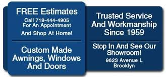 Custom Awning Windows Custom Awnings Windows Doors Brooklyn Ny