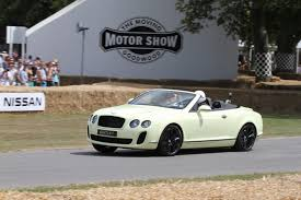 bentley supersports price 2010 goodwood festival bentley continental supersports convertible