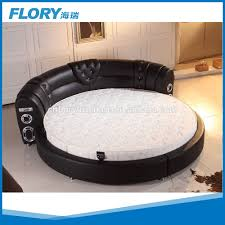 Rotating Beds Round Bed With Led Round Bed With Led Suppliers And Manufacturers