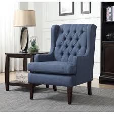 alcott hill argenta button tufted wingback chair walmart com