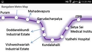 Metro Violet Line Map by Bangalore Metro Map Android Apps On Google Play