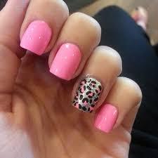 45 pink leopard print nail designs
