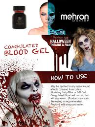 what is the best halloween makeup to use amazon com mehron coagulated blood gel professional costume