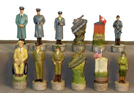 world war ii resin chess pieces at chesssetsworld com