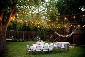picturesque outdoor christmas party at garden design inspiration