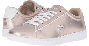 lacoste carnaby evo lcr blanc lyst lacoste carnaby evo 316 2 in gray
