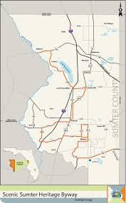 Bushnell Florida Map scenic sumter heritage byway sumter county chamber of commerce
