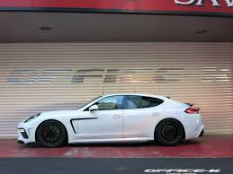 white porsche panamera new porsche panamera gts customized by office k in japan