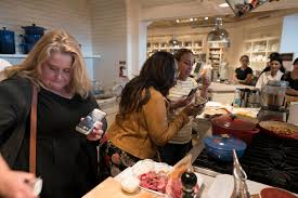 williams sonoma beauty and the beast blogger event in beverly
