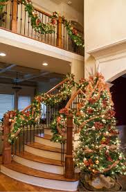 Handrail Christmas Decorations Christmas Tree Ideas