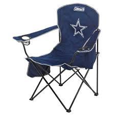 coleman dallas cowboys xl cooler quad chair academy