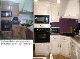 repeindre cuisine rustique relooker cuisine rustique avant apres plus cuisine cuisine 7 photos