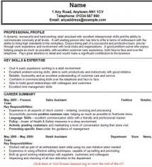 sales assistant resume best solutions of sales assistant cv exle shop resume