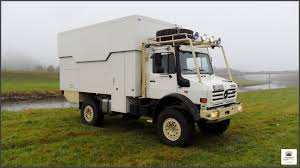 electric truck for sale unimog u2450 4x4 expedition truck with lift roof expedition
