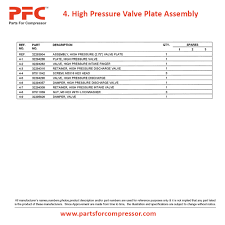 08 04 high pressure valve plate for 2545 ir 2545 parts