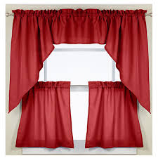 Swag Kitchen Curtains Found It At Wayfair Ribcord Kitchen Curtains Swag Create A New
