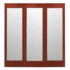 3 panel interior doors home depot 3 panel sliding doors interior closet doors the home depot