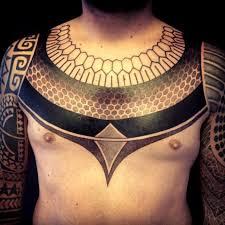 collar ethnic blackwork tattoo best tattoo ideas gallery