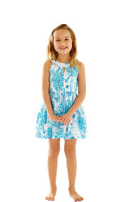 Lilly Pulitzer Baby Clothes Lilly Pulitzer Girls Claude Fit U0026 Flare From Lilly Pulitzer