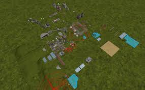 Empty Usa Map by Blank 4fach Map With Models V1 Fs17 Farming Simulator 17 Mod