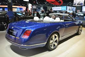 bentley shows grand convertible in la production depends on your