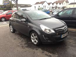 vauxhall corsa 1 2 petrol manual 3 door hatchback grey 2011 12