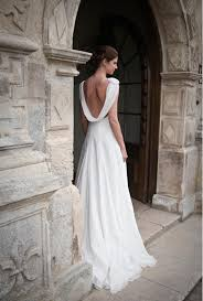 contemporary wedding dresses 23 cowl back wedding dresses a hip trend for glamorous style
