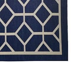 veranda living colors indoor outdoor 7x10 geometric reversible rug