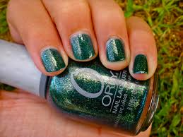 posh for polish orly meet me under the mistletoe