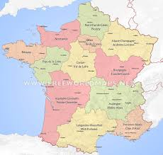Alsace Lorraine Map Political Map Of France Nations Online Project France Political