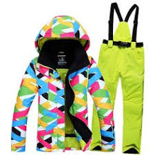 2017 new high quality women skiing jackets and pants snowboard