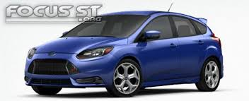 2014 ford focus st blue 2013 ford focus st colors