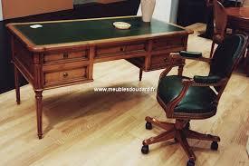 bureau merisier bureau louis xvi merisier mobilier de bureau en merisier
