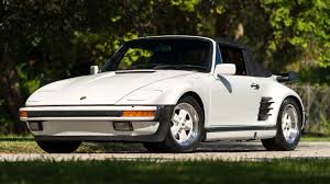 white porsche convertible 1988 porsche 911 turbo slant nose cabriolet s220 kissimmee 2016