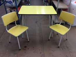 Retro Kitchen Table by Yellow Retro Kitchen Table Chairs And Photos