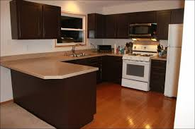 Staining Kitchen Cabinets Darker by Kitchen Hardwood Kitchen Cabinets Cream Colored Kitchen Cabinets