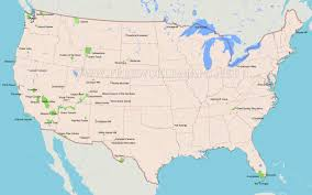 map of us states national parks united states national parks map within us lapiccolaitalia info