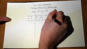 trial and improvement solving equations in algebra essential