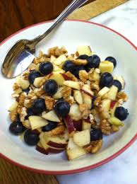 lunch for a diabetic recipe apple pecan blueberry lunch bowl paleo diabetic